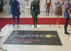 Exhibition and Fashion Show at International Headquarters Make Clear that 'Each Life Counts'