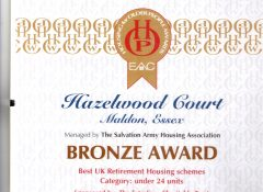 Hazelwood Court wins Bronze at the EAC awards