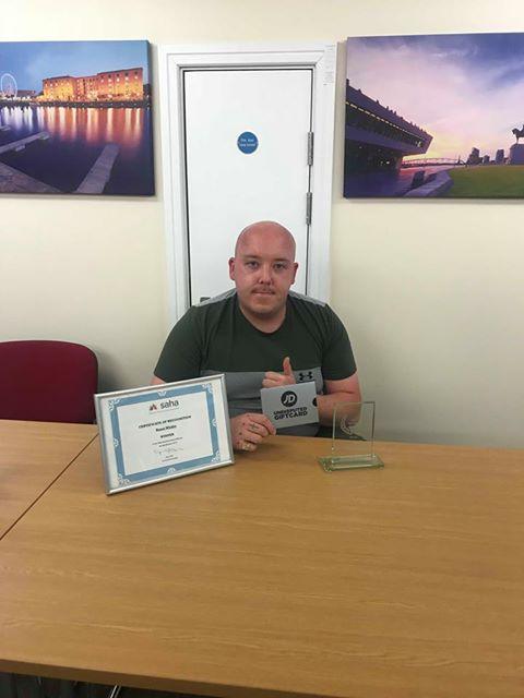 Ronni wins residents award!